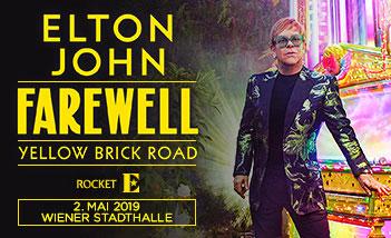 Elton John,live in der Wiener Stadthalle,Tickets online kaufen